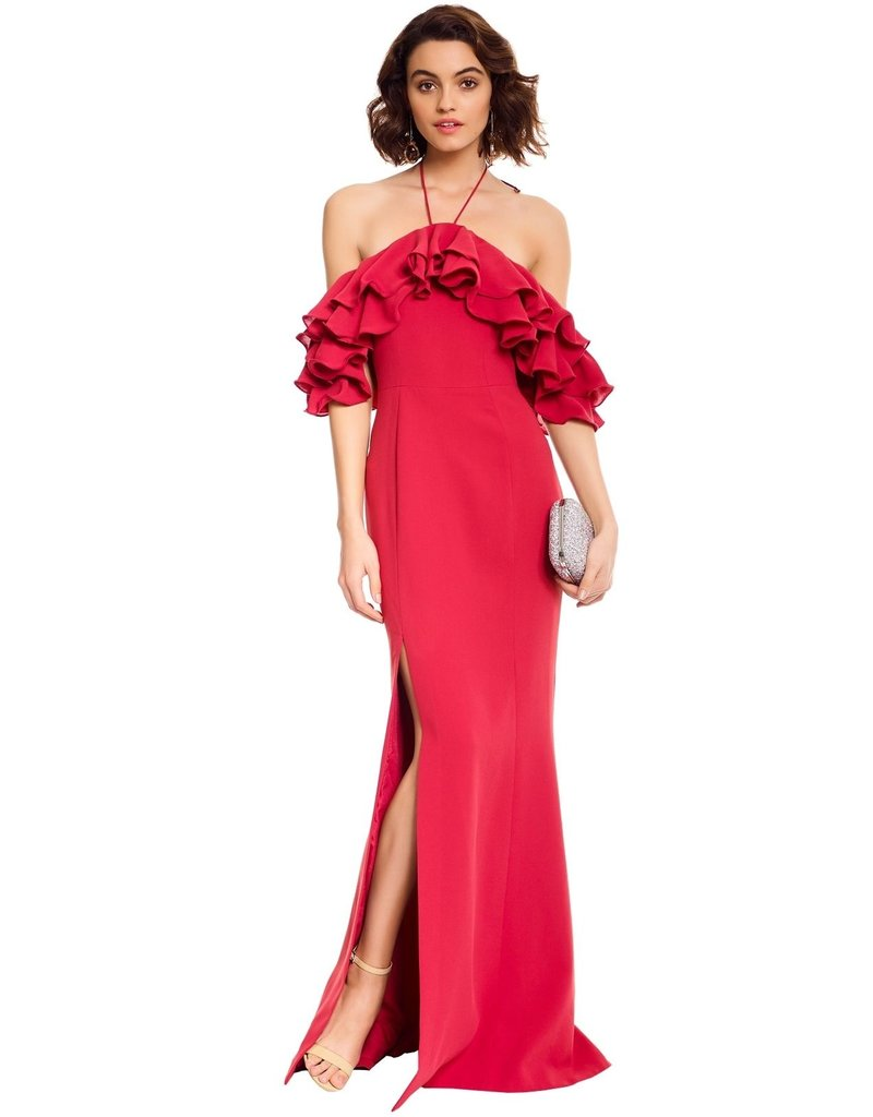 CAMEO IMMERSE GOWN DRESSES ROSE MT: S