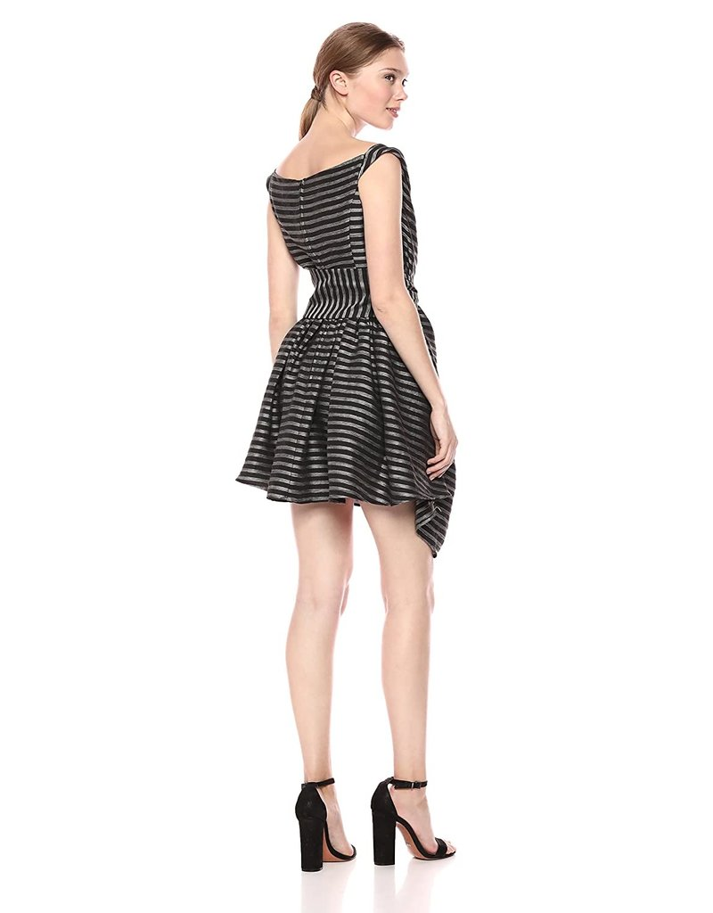 CAMEO BLINDED DRESSES BLACK