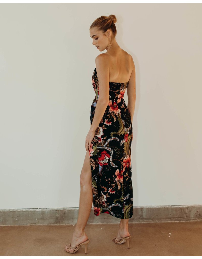 KATIE MAY COME ON HOME DRESSES BLACK PAISLEY