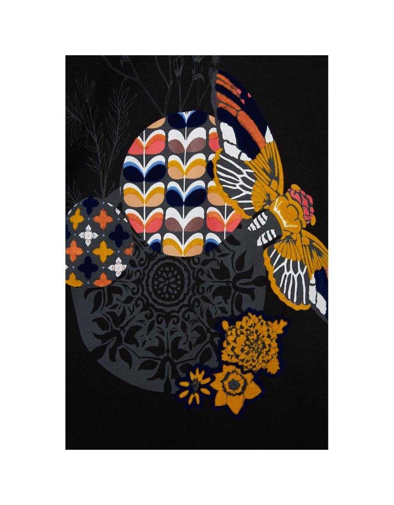 DESIGUAL SAMIRA TOPS BLACK COMBO XL