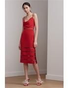 KEEPSAKE INDULGE MIDI DRESSES 30171154 RED S