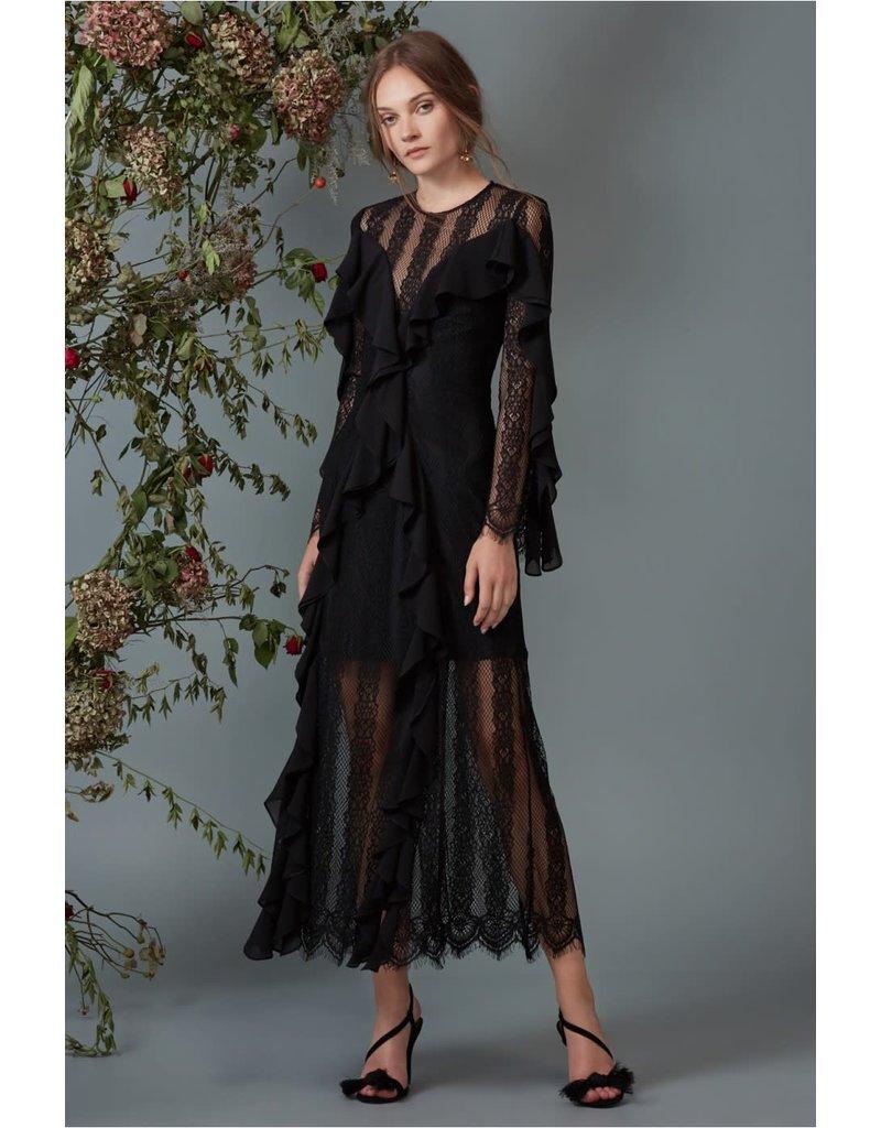 KEEPSAKE BETTER DAYS LACE GOWN DRESSES 30171026 BLACK S