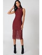 KEEPSAKE UPLIFTED MIDI DRESSES 30171010 BURNT RED S