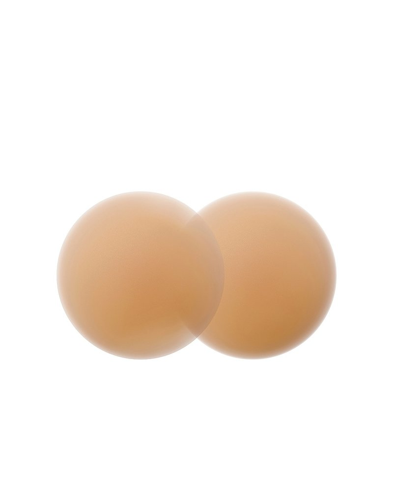 B-SIX SILICONE  NIPPIES SKIN SMOOTH UNDERWEAR ACCESSORIES CARAMEL 2 CUP D