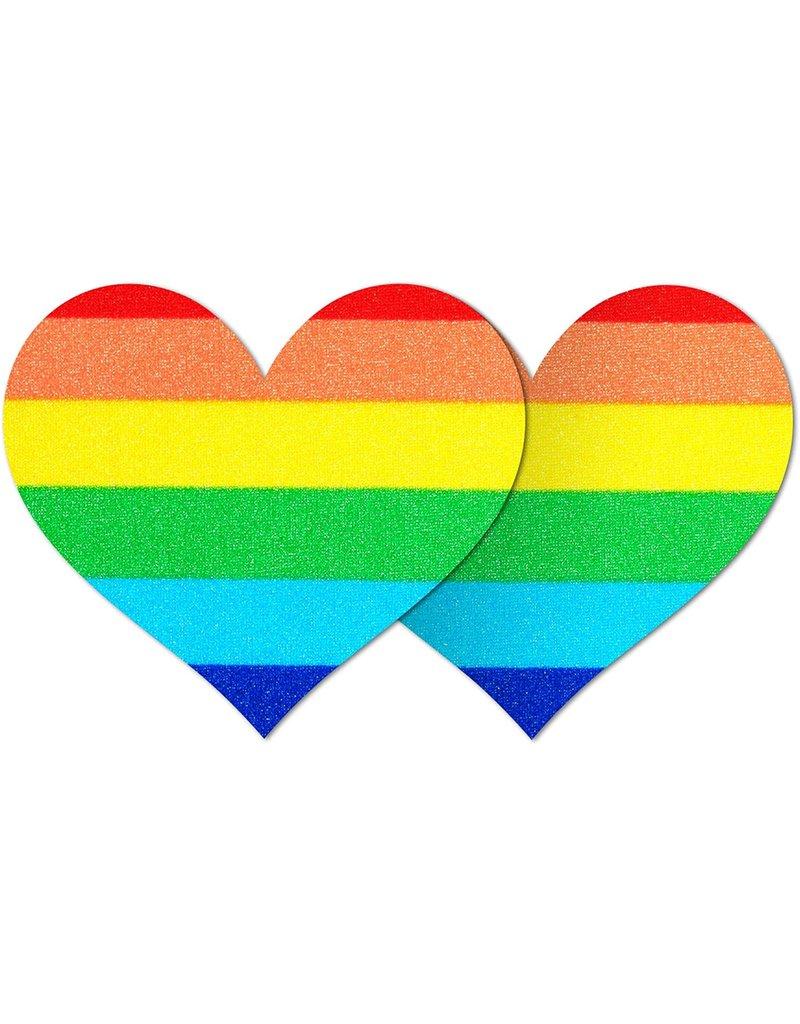 B-SIX STRIPES ONE LOVE HEART UNDERWEAR ACCESSORIES RAINBOW OS