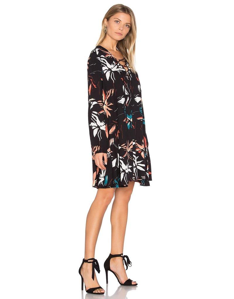 DIVERSEN SALE LATTICE DRESSES TIGER LILY FALL M