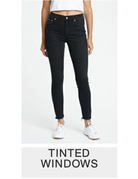 DAZE CALL YOU BACK HIGH RISE SKINNY ANKLE JEANS