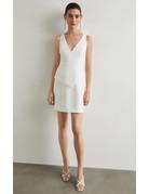 BCBGMAXAZRIA19 SLEEVELESS TAILORED DRESSES BYM6208503 OFF WHITE 6