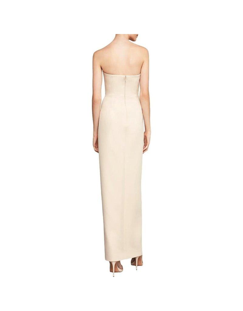 BCBGMAXAZRIA19 STRAPLES NOTCH V GOWN DRESSES BYM6170294 BARE PINK 4