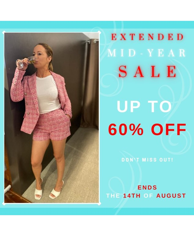 EXTENDED MID-YEAR SALE