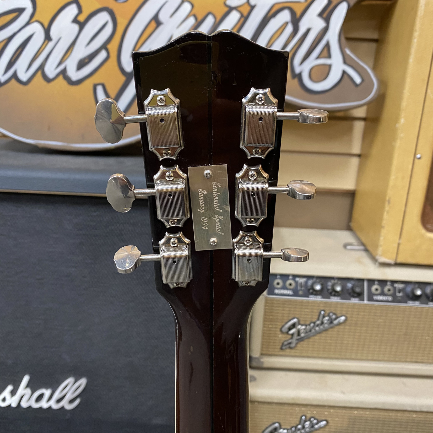 """Gibson Gibson 1894-1994 Commemorative Limited Edition """"1929"""" L-2 #51 of 100"""