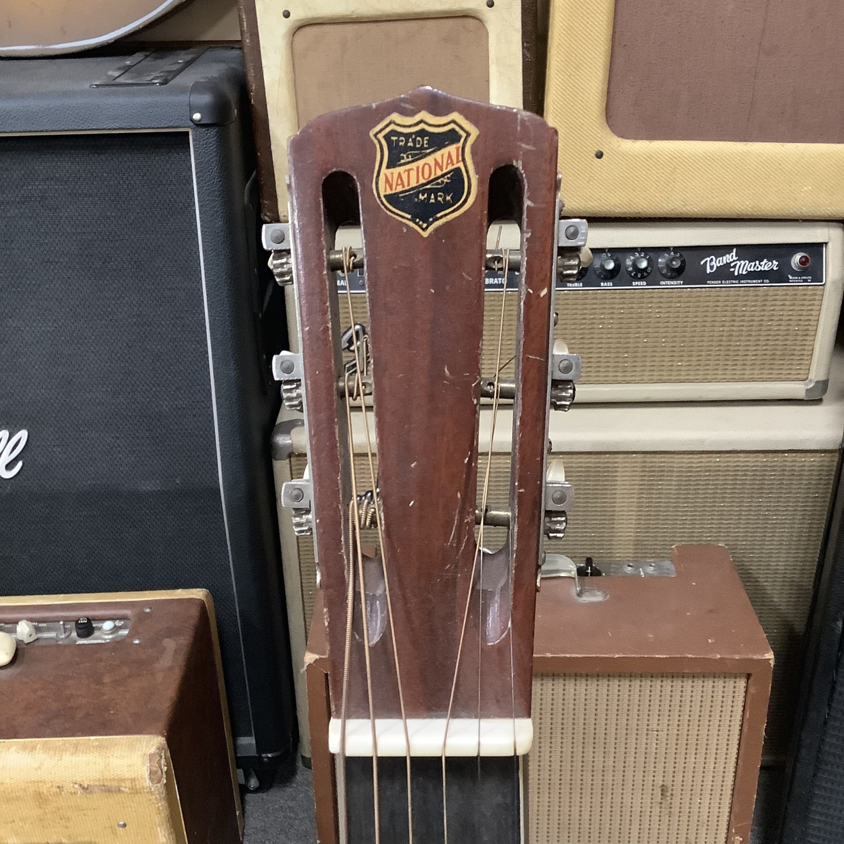 National 1930s National Square Neck Tricone