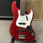 Fender 1966 Fender Jazz Bass Candy Apple Red Matching Headstock