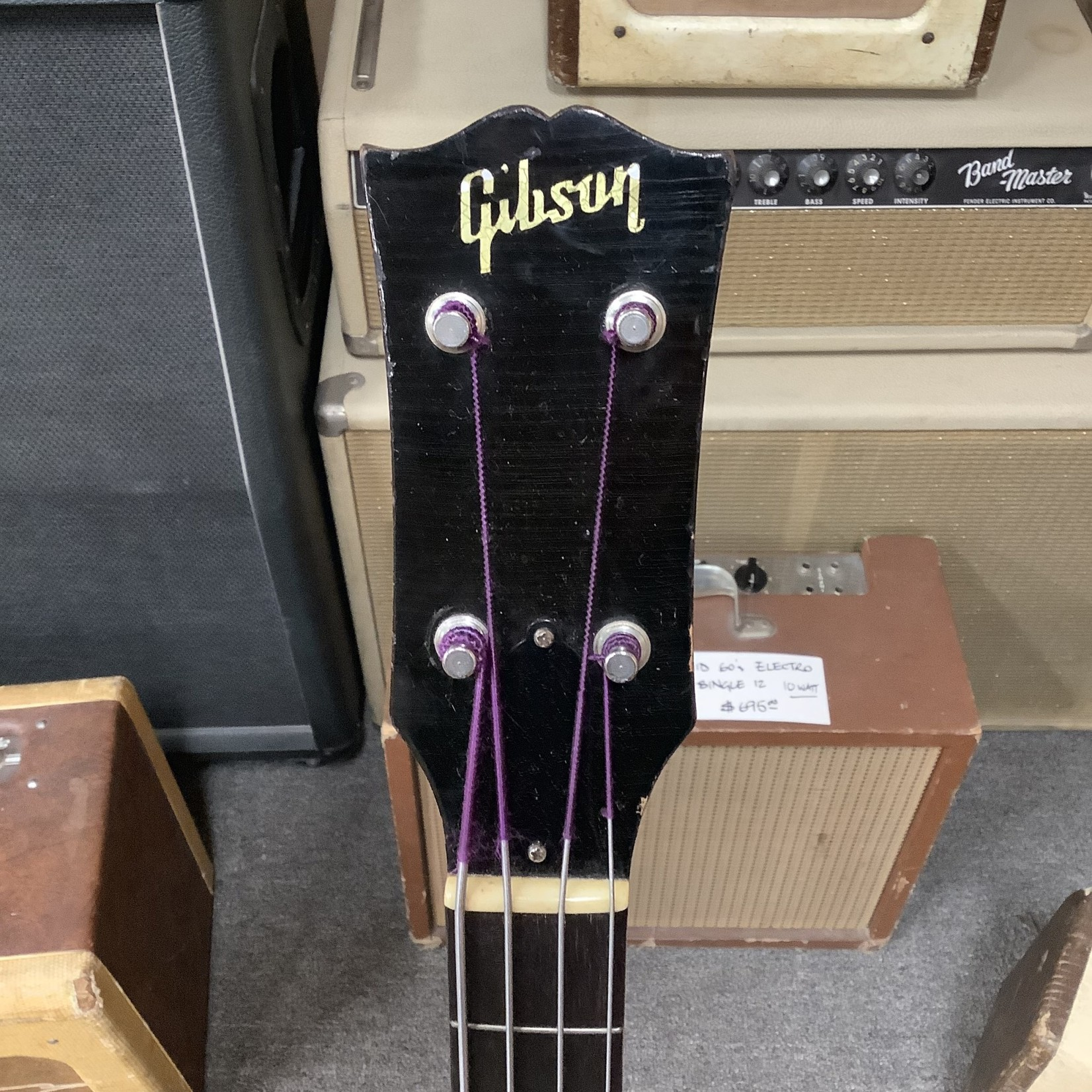 Gibson 1956 Gibson EB-1 Violin Bass With Stand