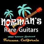 Norman's Rare Guitars Palm Tree T-Shirt