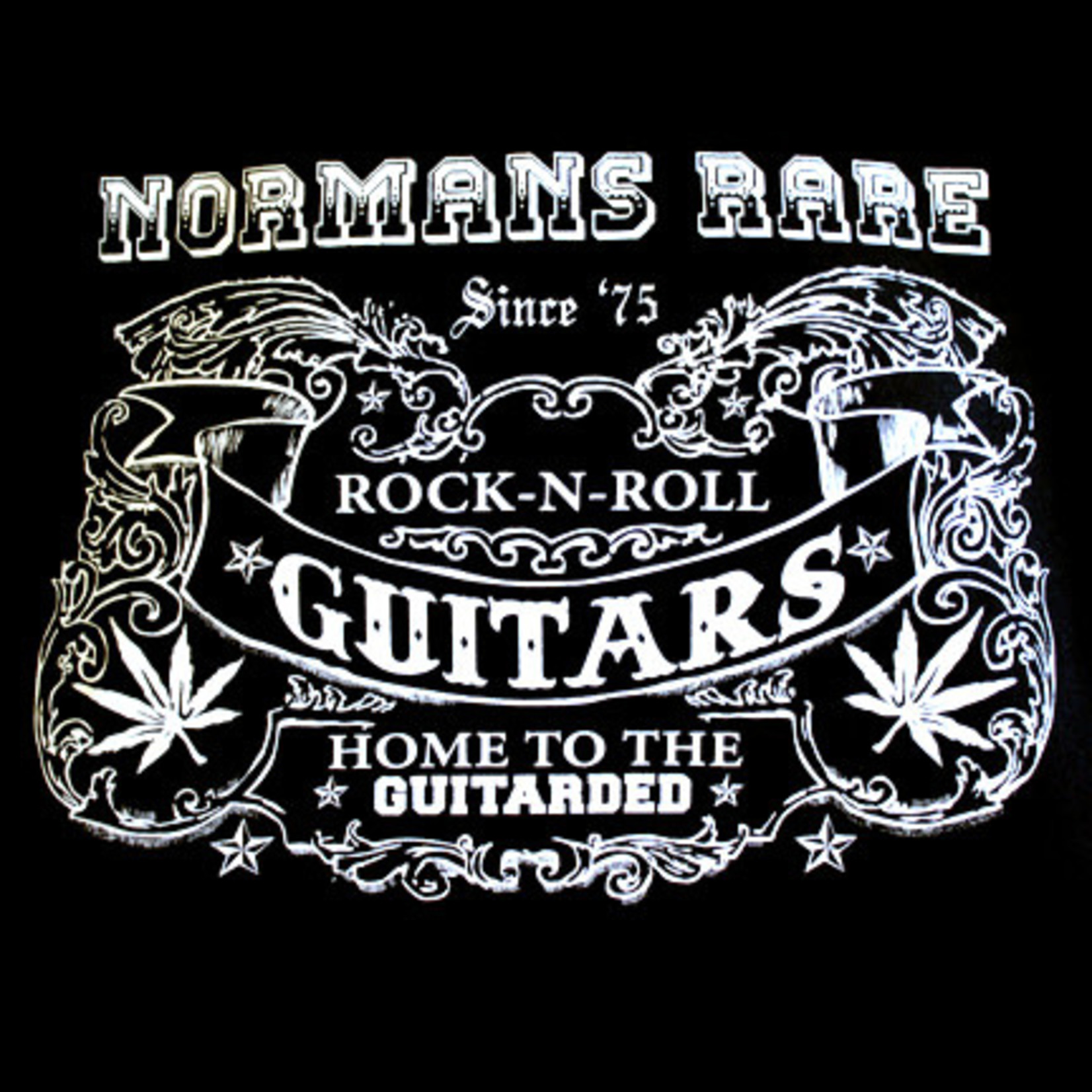 Norman's Rare Guitars Home To The Guitarded T-Shirt