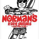 Norman's Rare Guitars Red Baseball Tee