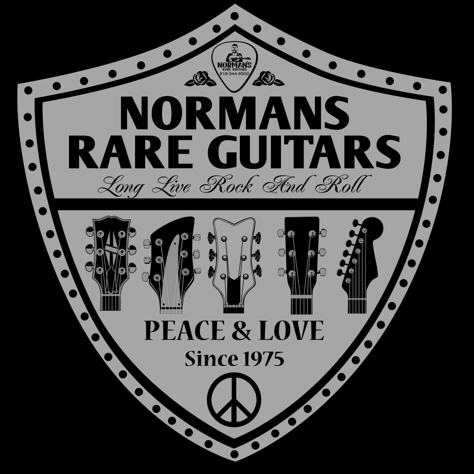 Norman's Rare Guitars Peace & Love T-Shirt
