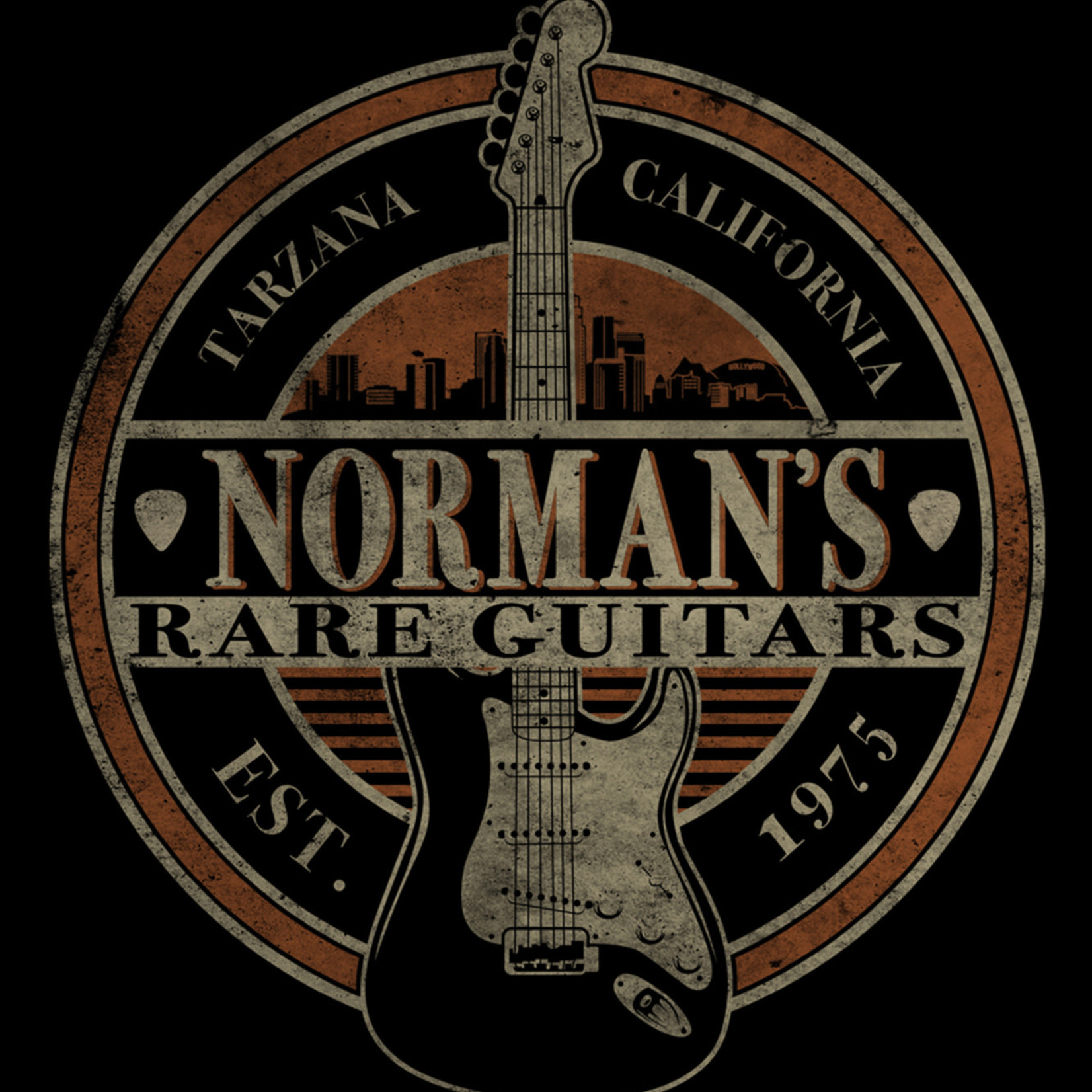 Norman's Rare Guitars Skyline T-Shirt