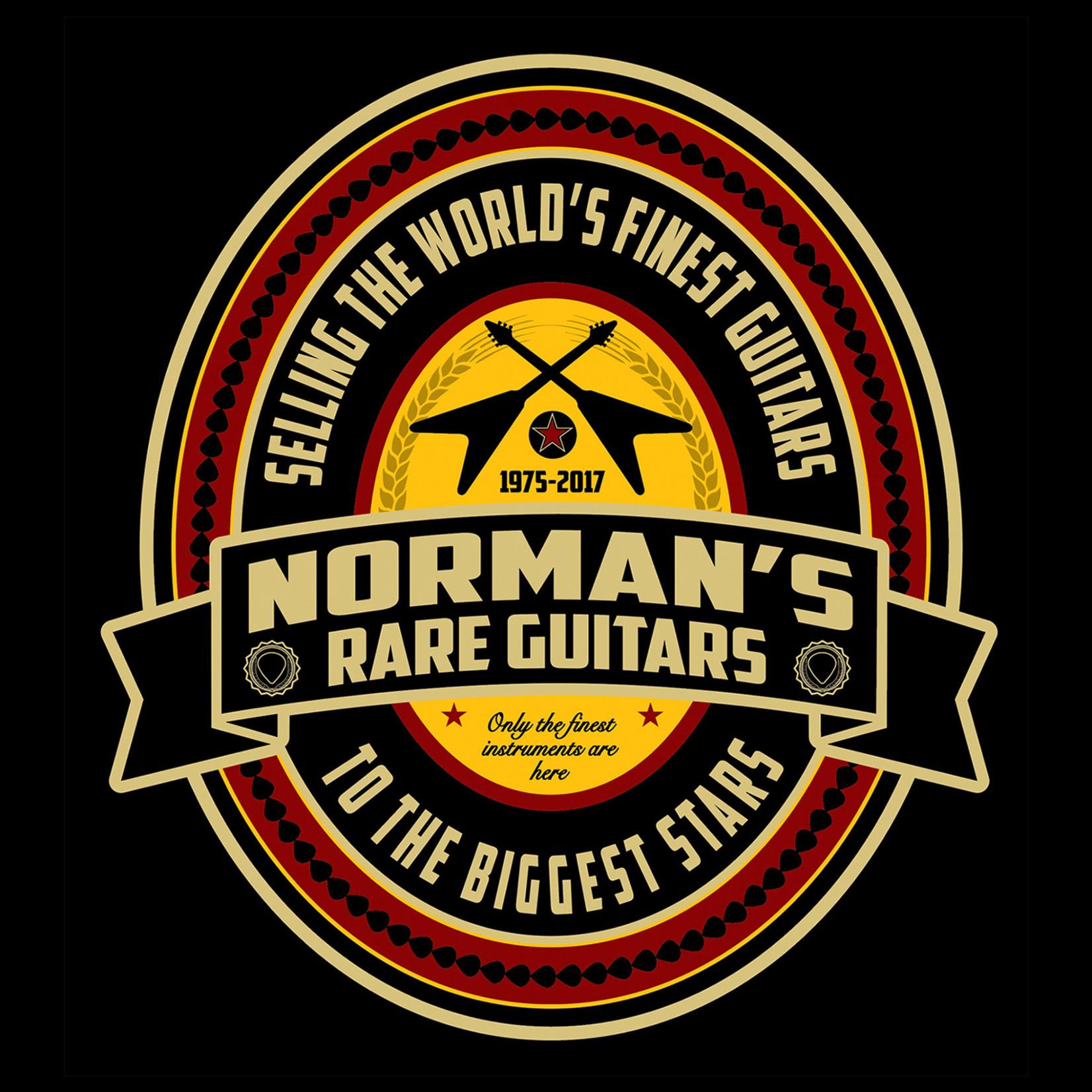 Norman's Rare Guitars Beer Label T-Shirt