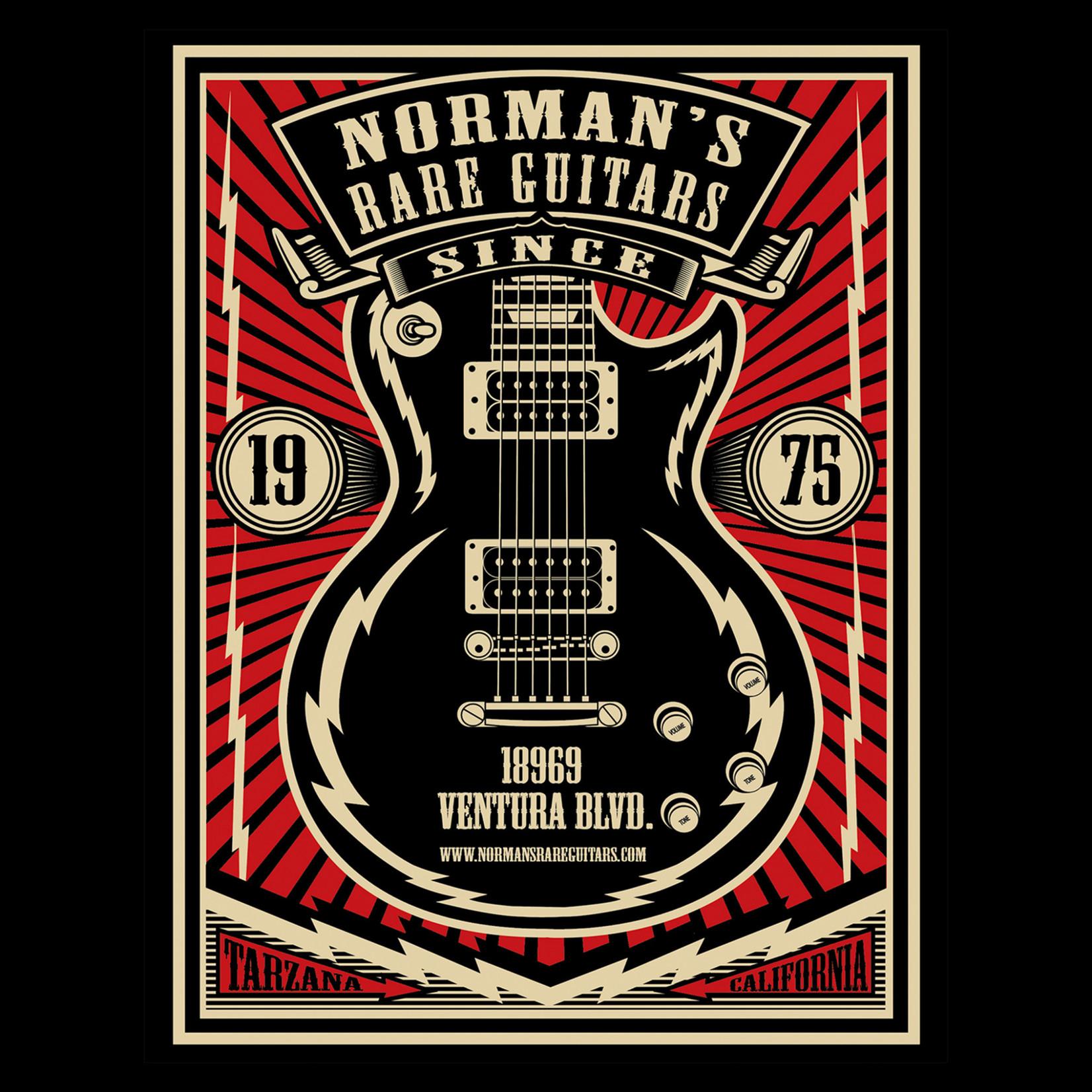 Norman's Rare Guitars Lightning Paul T-Shirt
