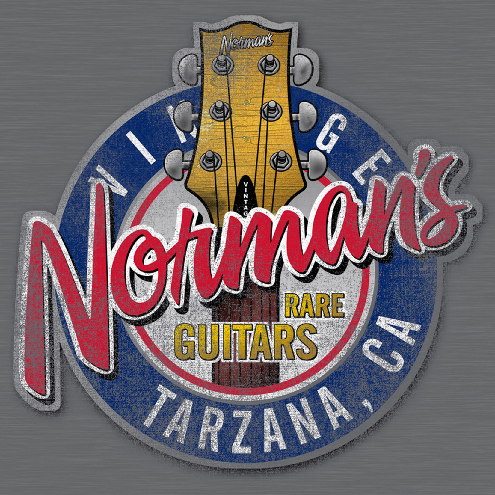 Norman's Rare Guitars Norm's Headstock T-Shirt