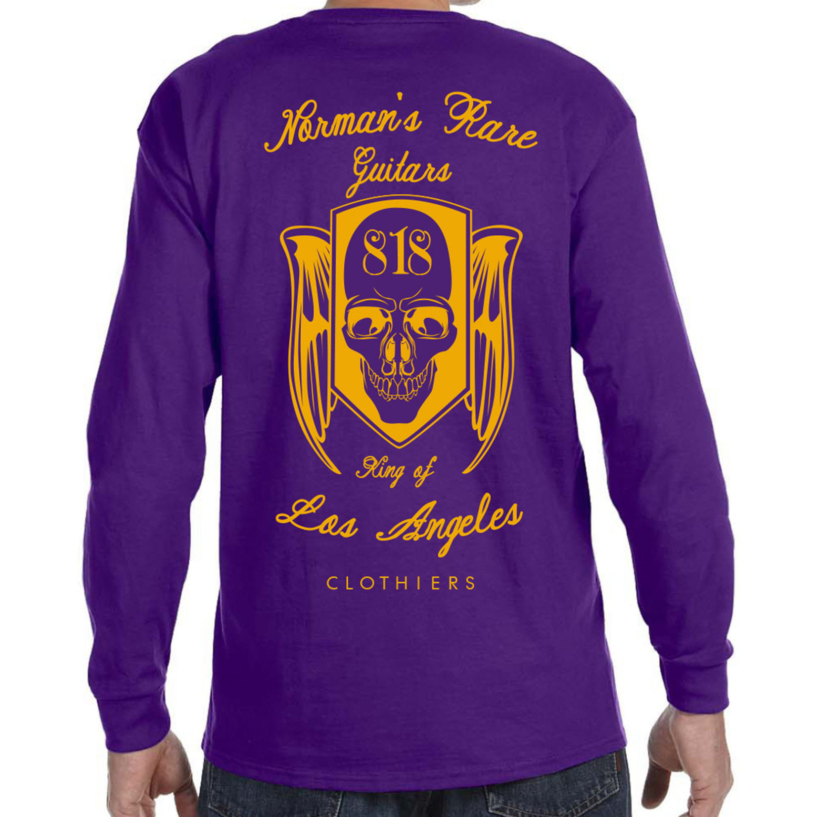 Norman's Rare Guitars Purple NRG Long Sleeves