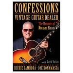 Norman's Rare Guitars Confessions of a Vintage Guitar Dealer Book: The Memoirs of Norman Harris