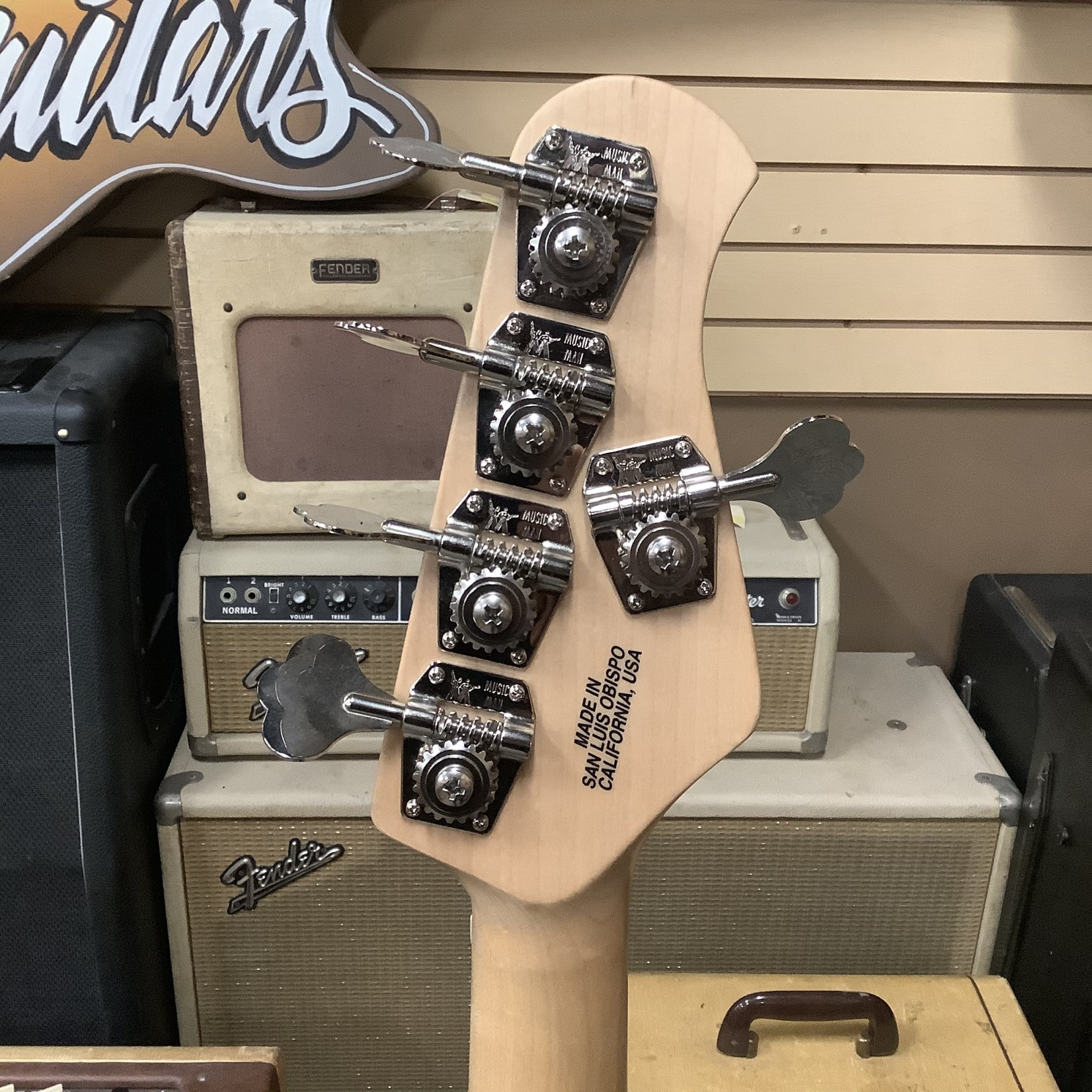 Music Man 2011 Musicman Stingray 5-String Lefty Bass