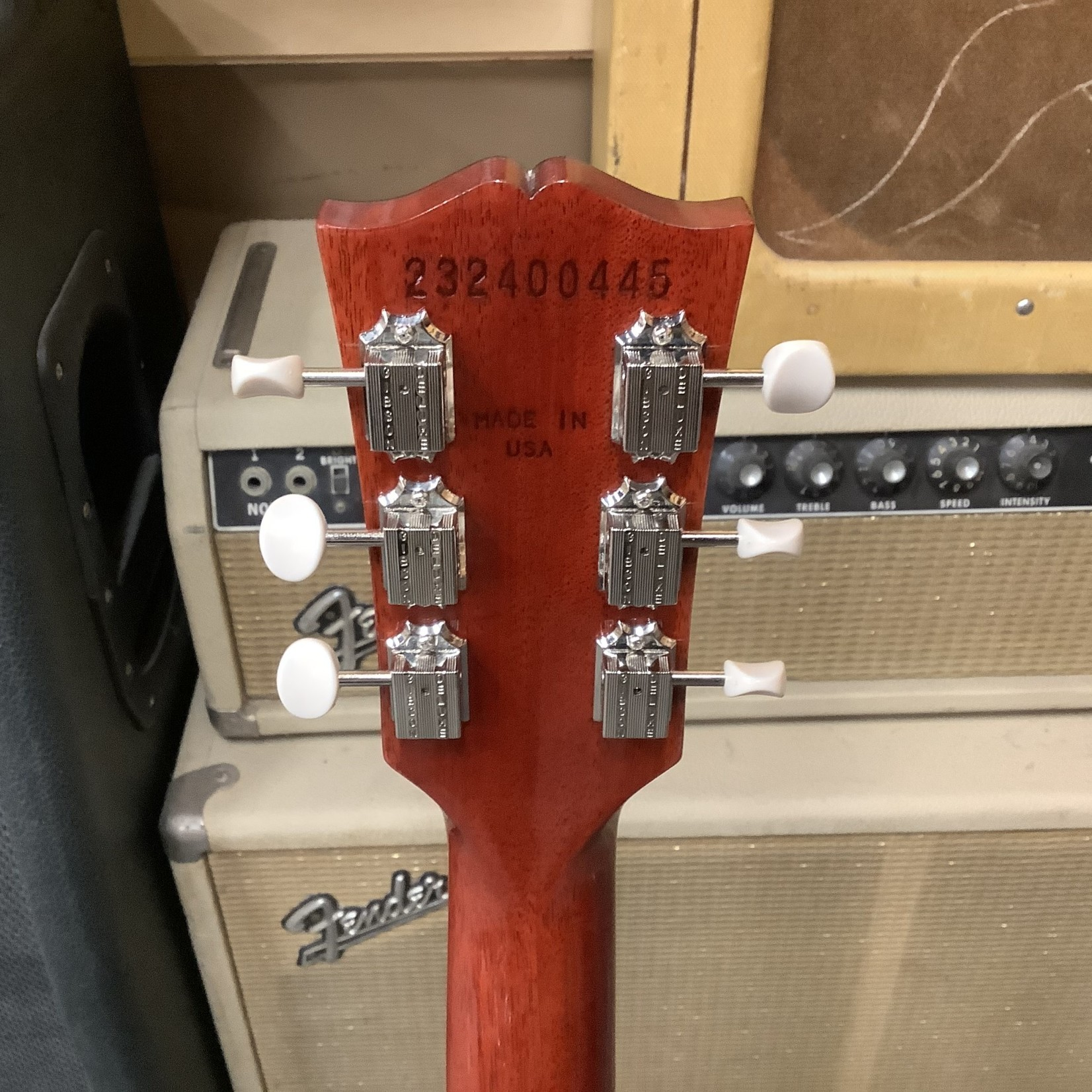 Gibson New 2020 Gibson SG Junior Vintage Cherry Red Finish