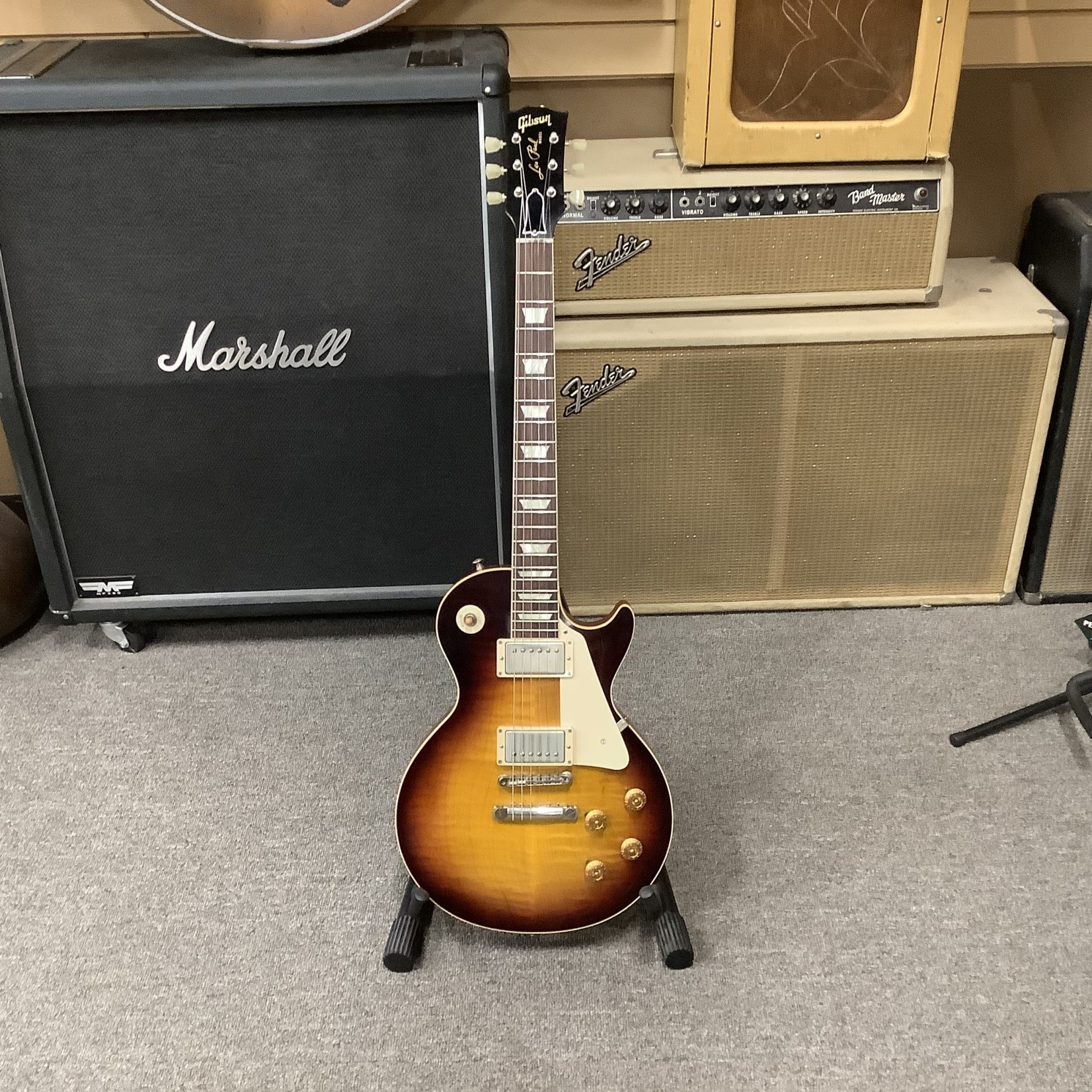 Gibson Gibson Custom Shop Les Paul R8 Dark Burst