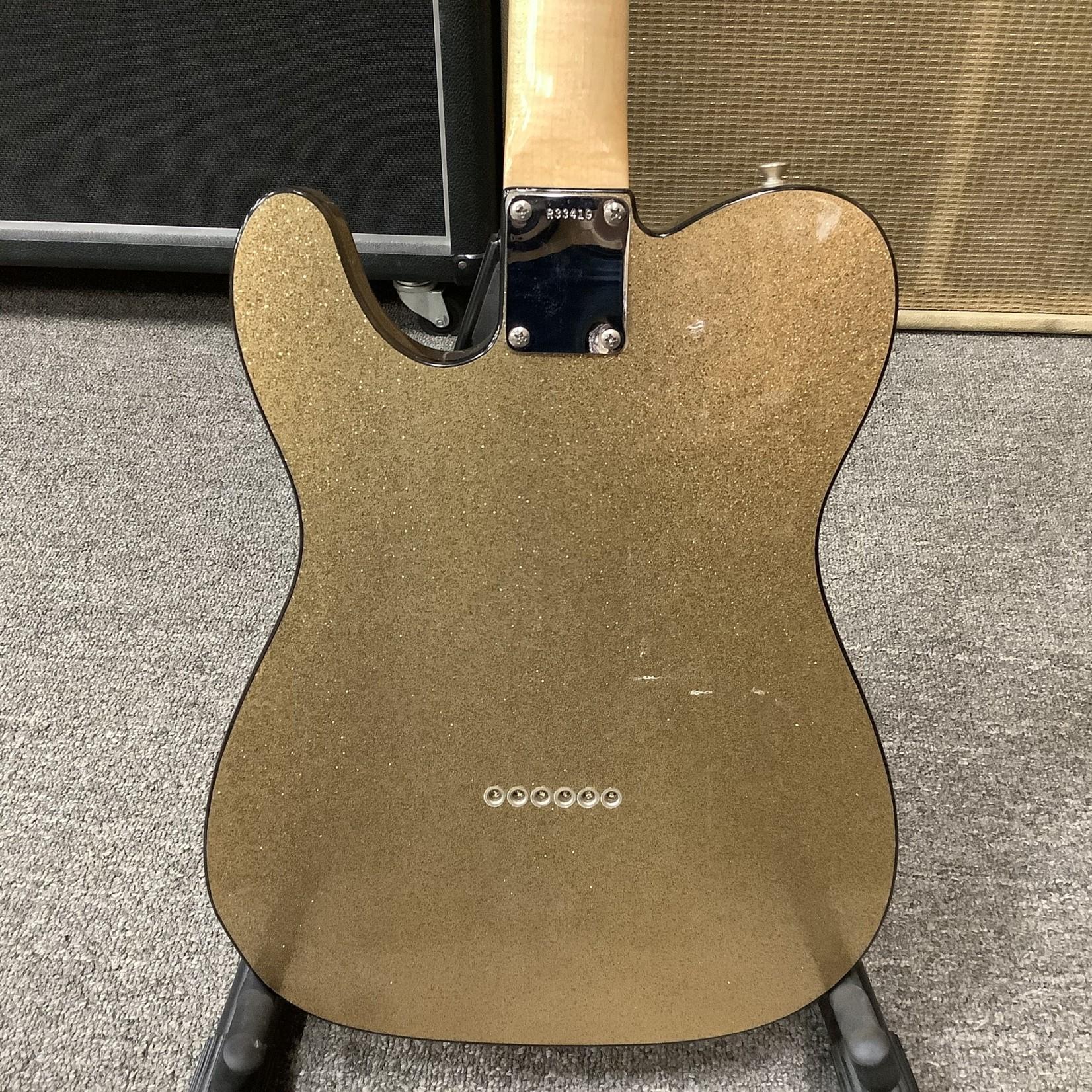 """Fender 2006 Fender Custom Shop Telecaster """"64 NOS"""" Gold Sparkle"""