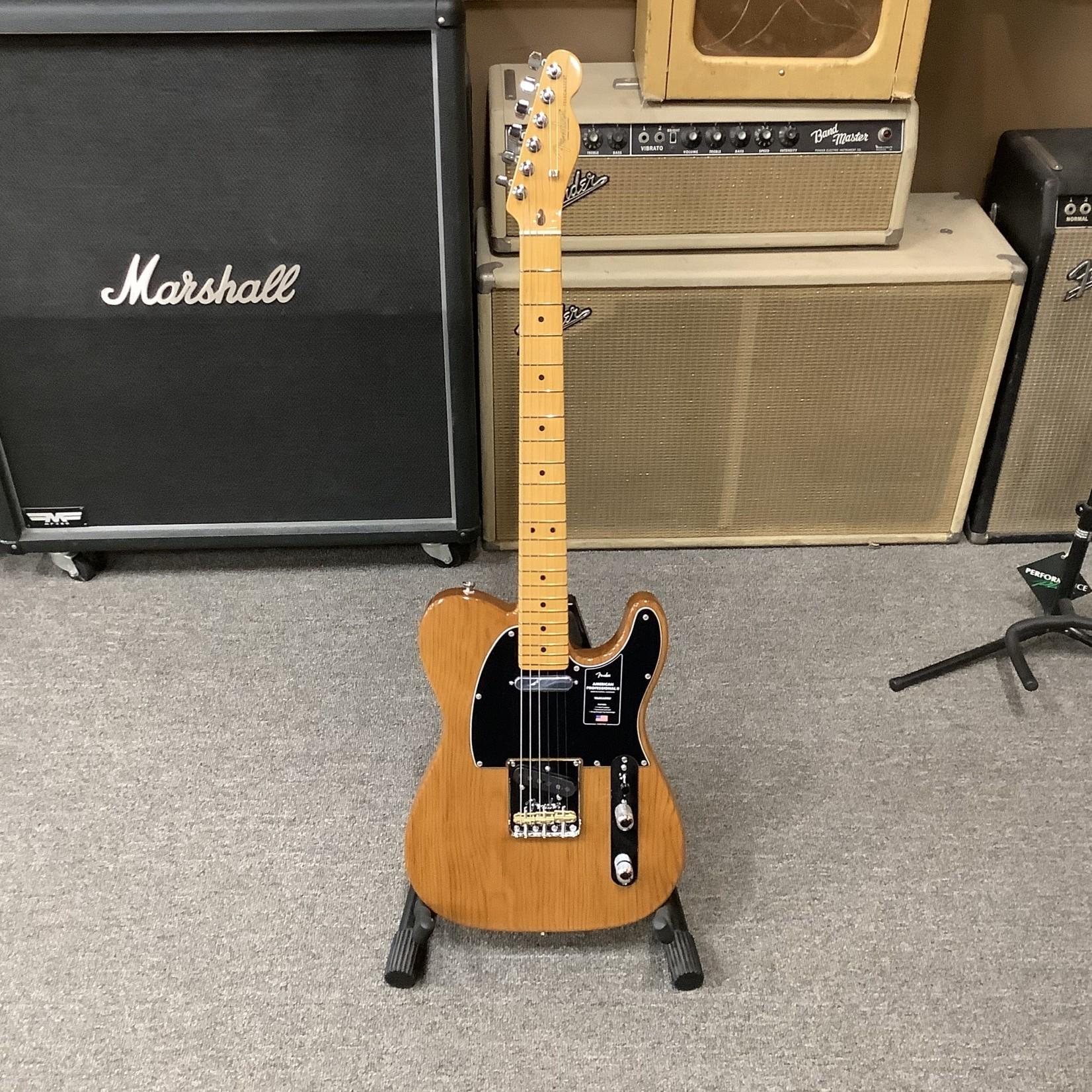 Fender Brand New Fender American Professional II Telecaster Maple Neck Roasted Pine