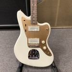Squier 2020 Squier by Fender Signature J. Mascis Jazzmaster Cream Gold Anodized Guard