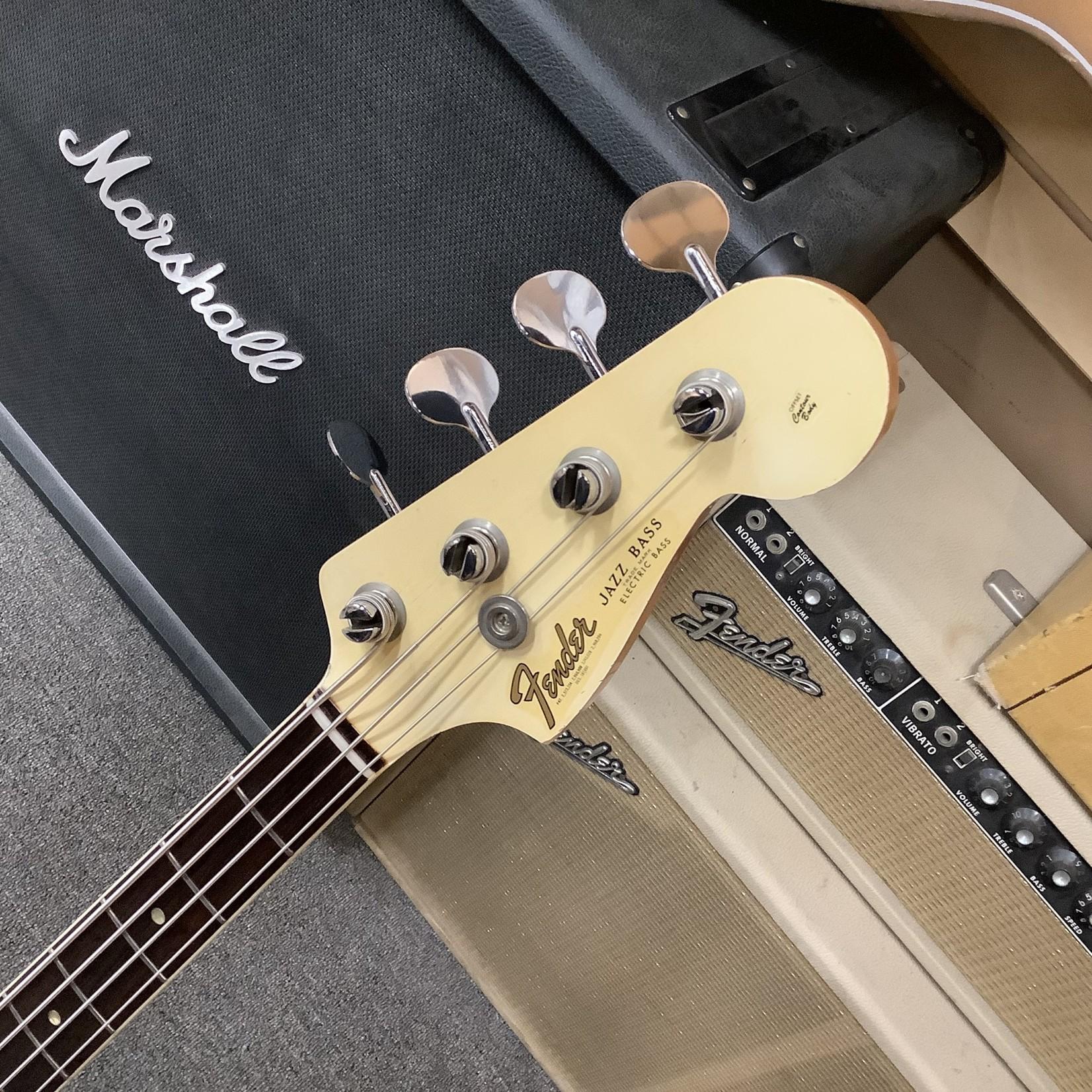 Fender 1966 Fender Jazz Bass White Matching Head Stock