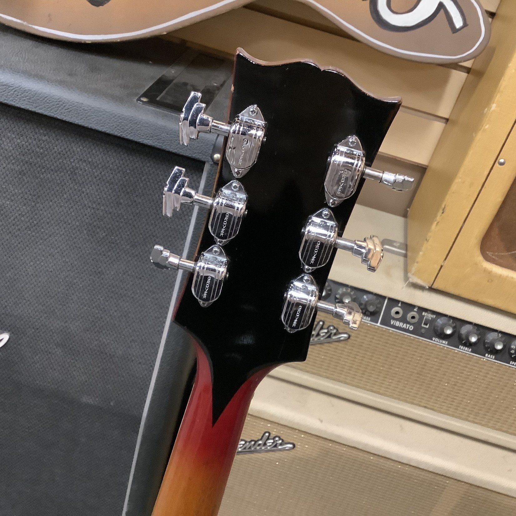 Gibson 1968 Gibson Barney Kessel Cherry Sunburst