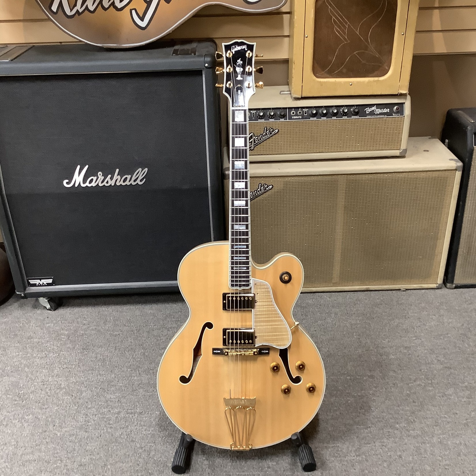 Gibson 2004 Gibson Byrdland Natural Blonde Flame w/Choice Of Pickguards