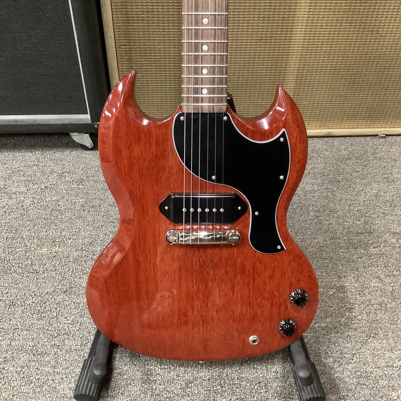 Gibson New 2020 Gibson SG Junior Vintage Cherry Red