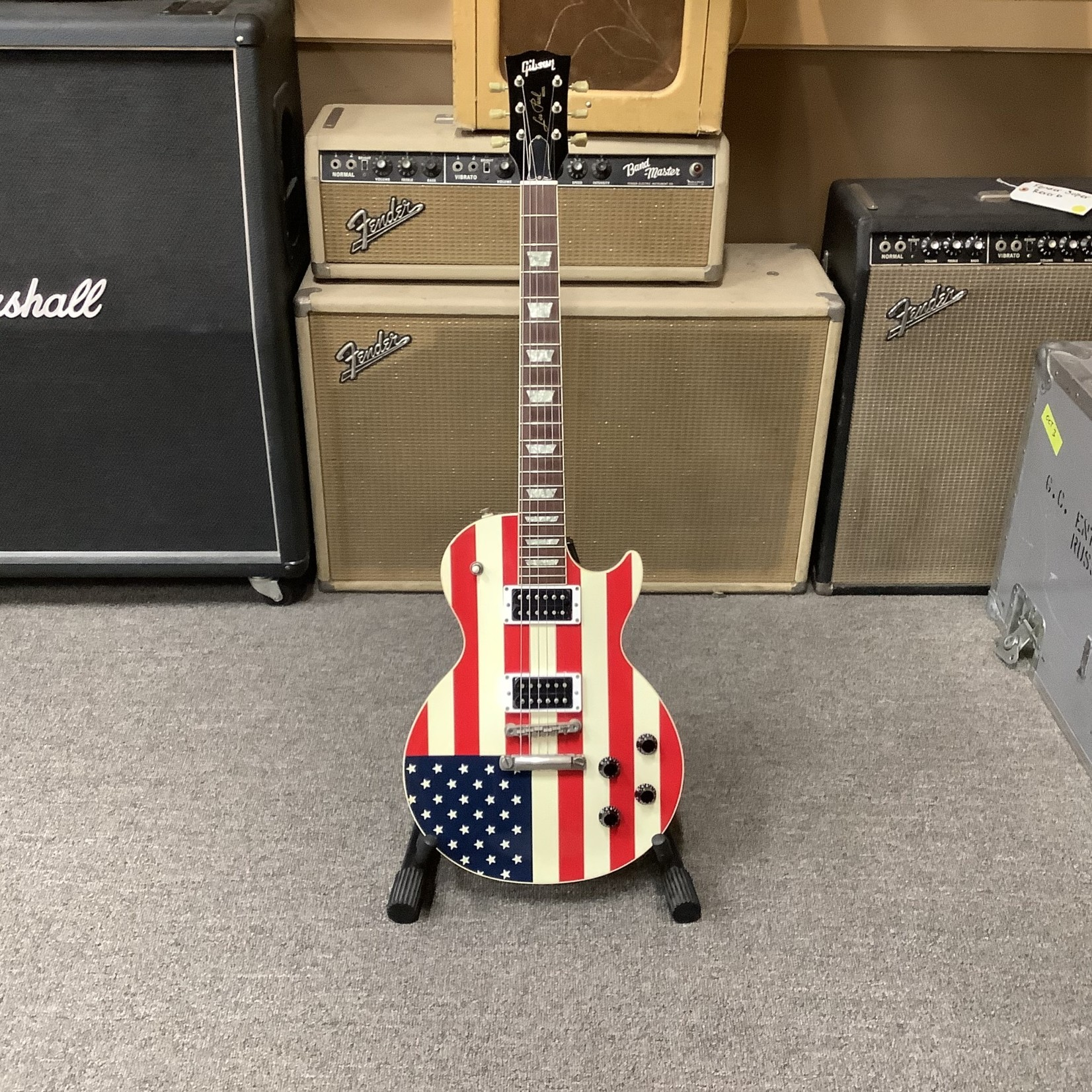 Gibson Gibson Custom Shop Les Paul Standard Stars And Stripes