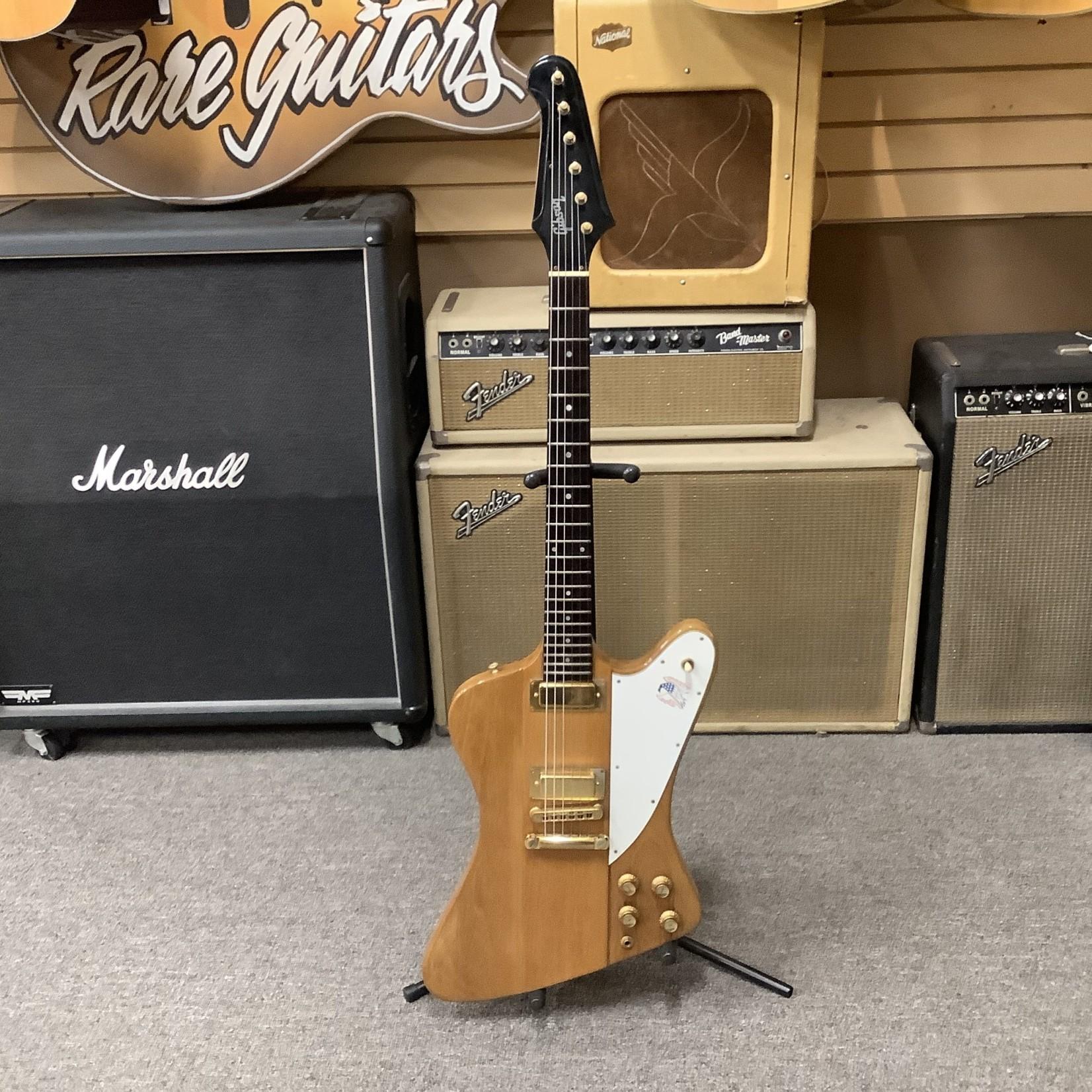 "Gibson 1976 ""Centennial"" Gibson Firebird III Gold Parts w/Red, White And Blue Bird Logo"