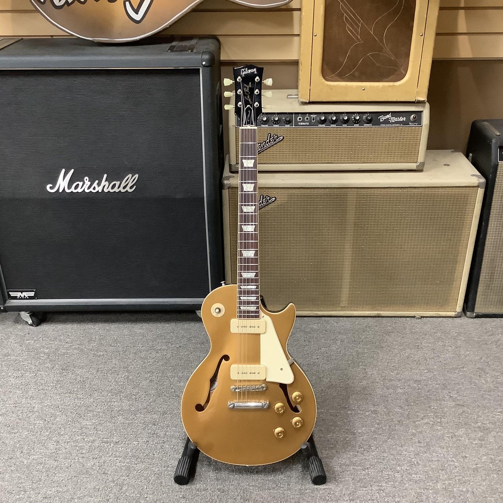 Gibson 2015 Gibson Memphis ES Les Paul Gold Top w/P-90's