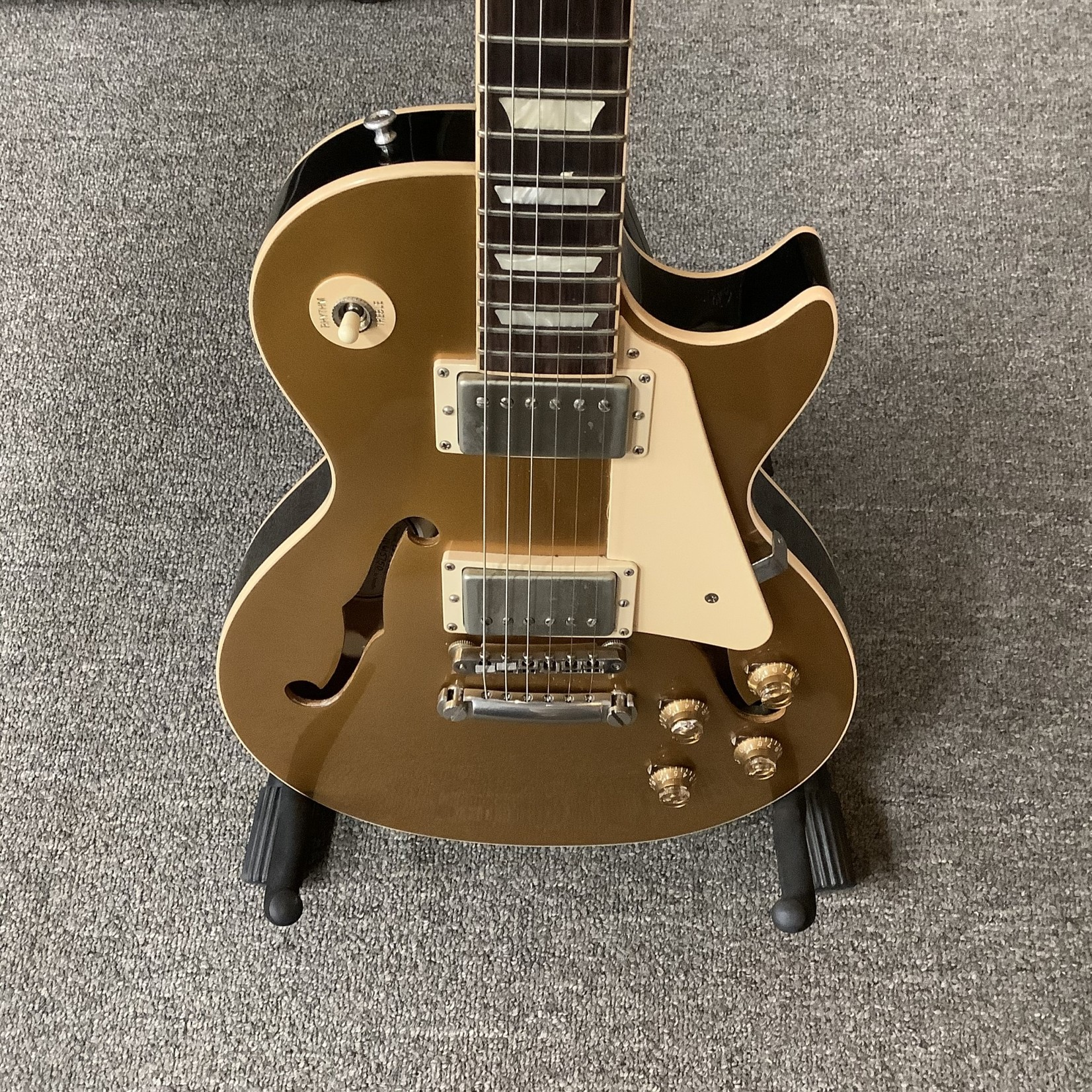 Gibson 2015 Gibson ES Les Paul F-Hole Gold Top w/Humbuckers