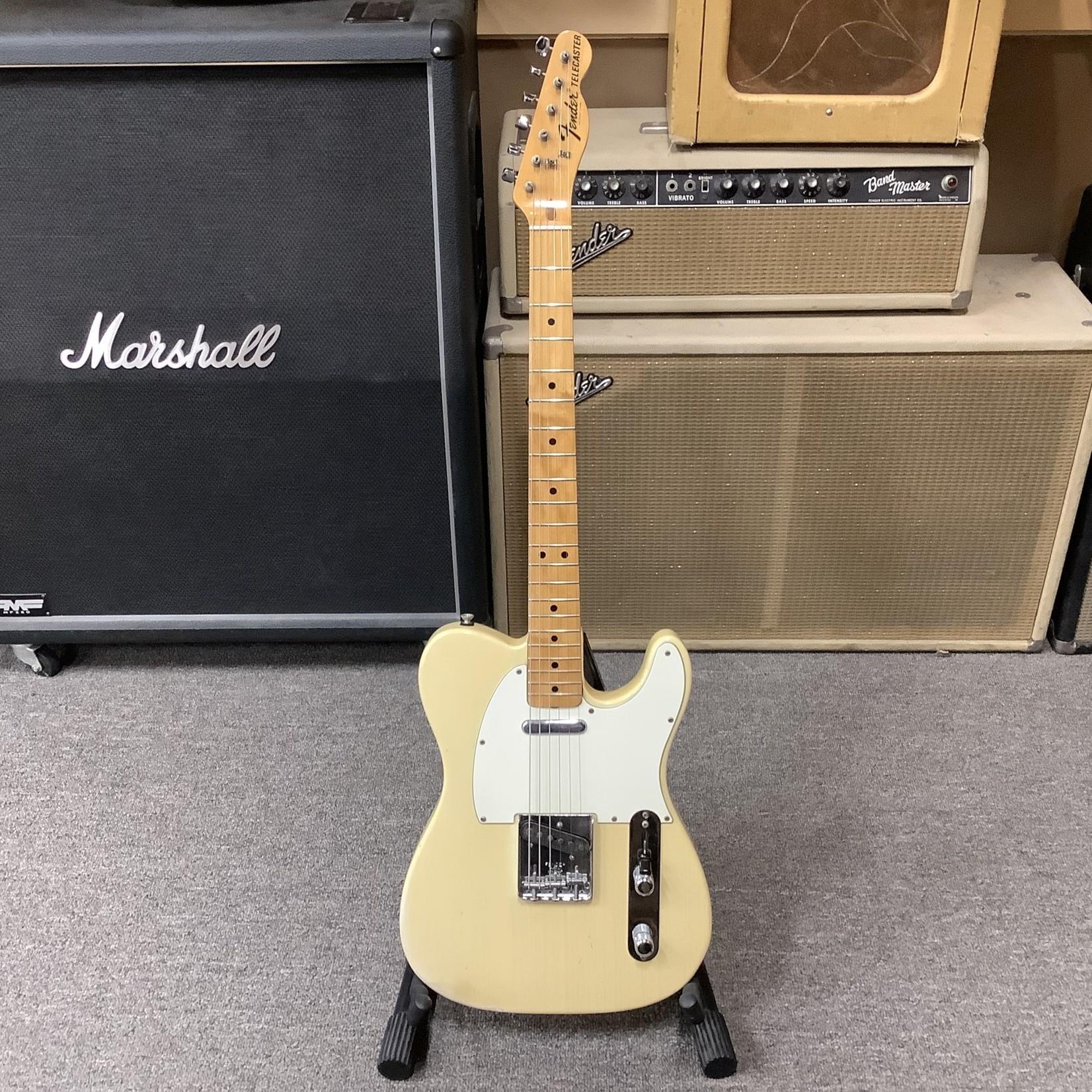 Fender 1973 Fender Telecaster Blonde Maple Neck, White Pickguard