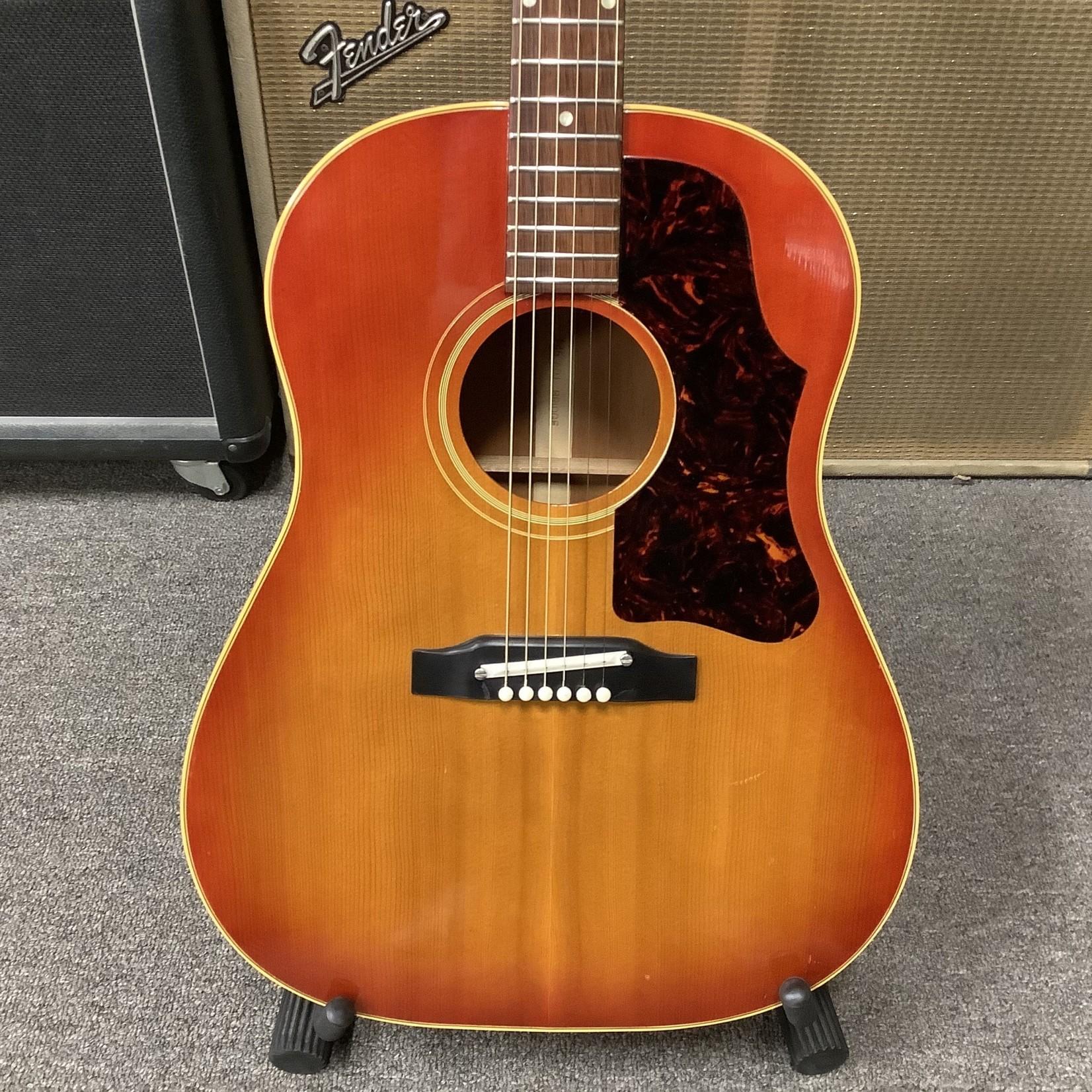Gibson 1963 Gibson J-45 w/Nylon Adjustable Bridge Sunburst