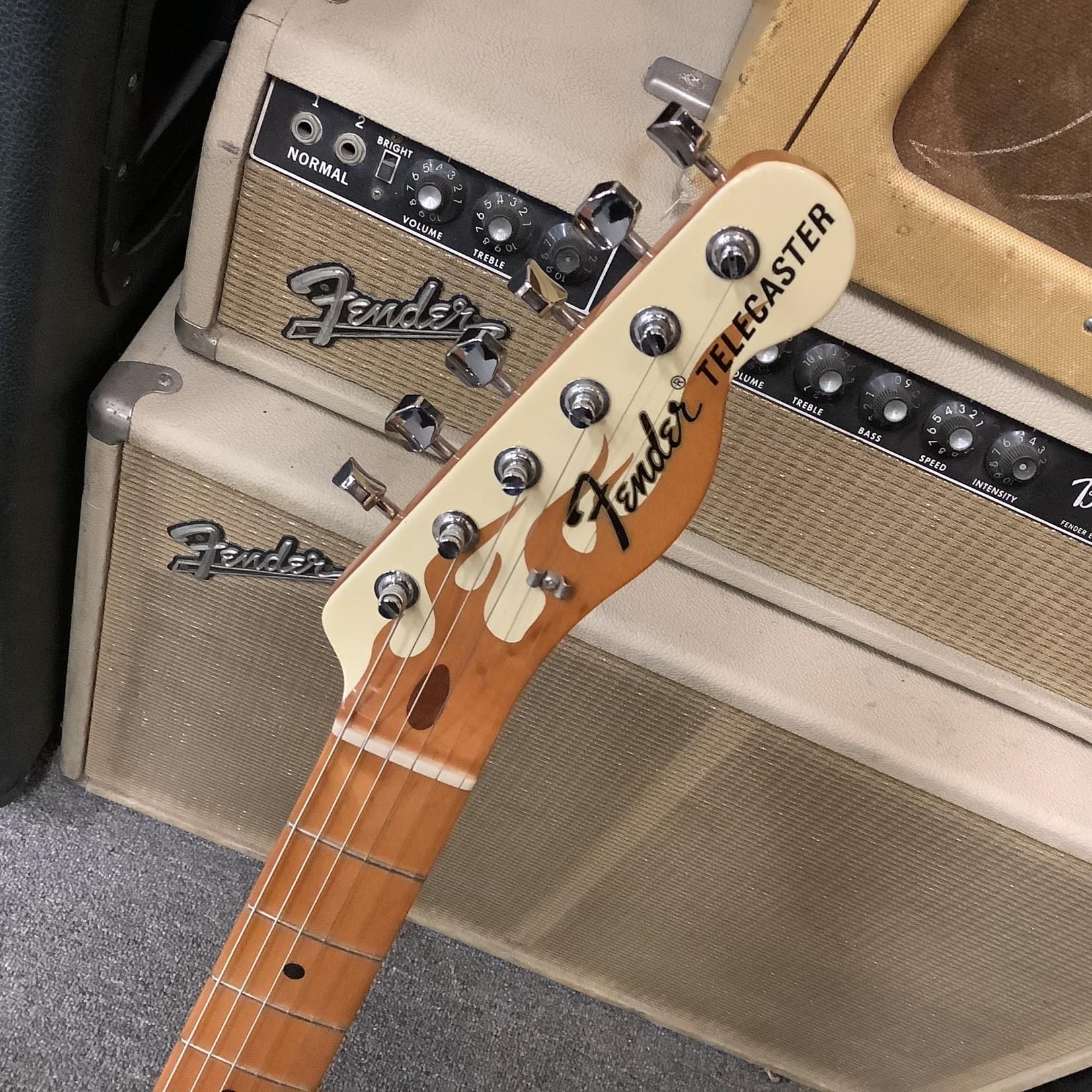 Gibson Fender MX Telecaster Thinline Custom Flames