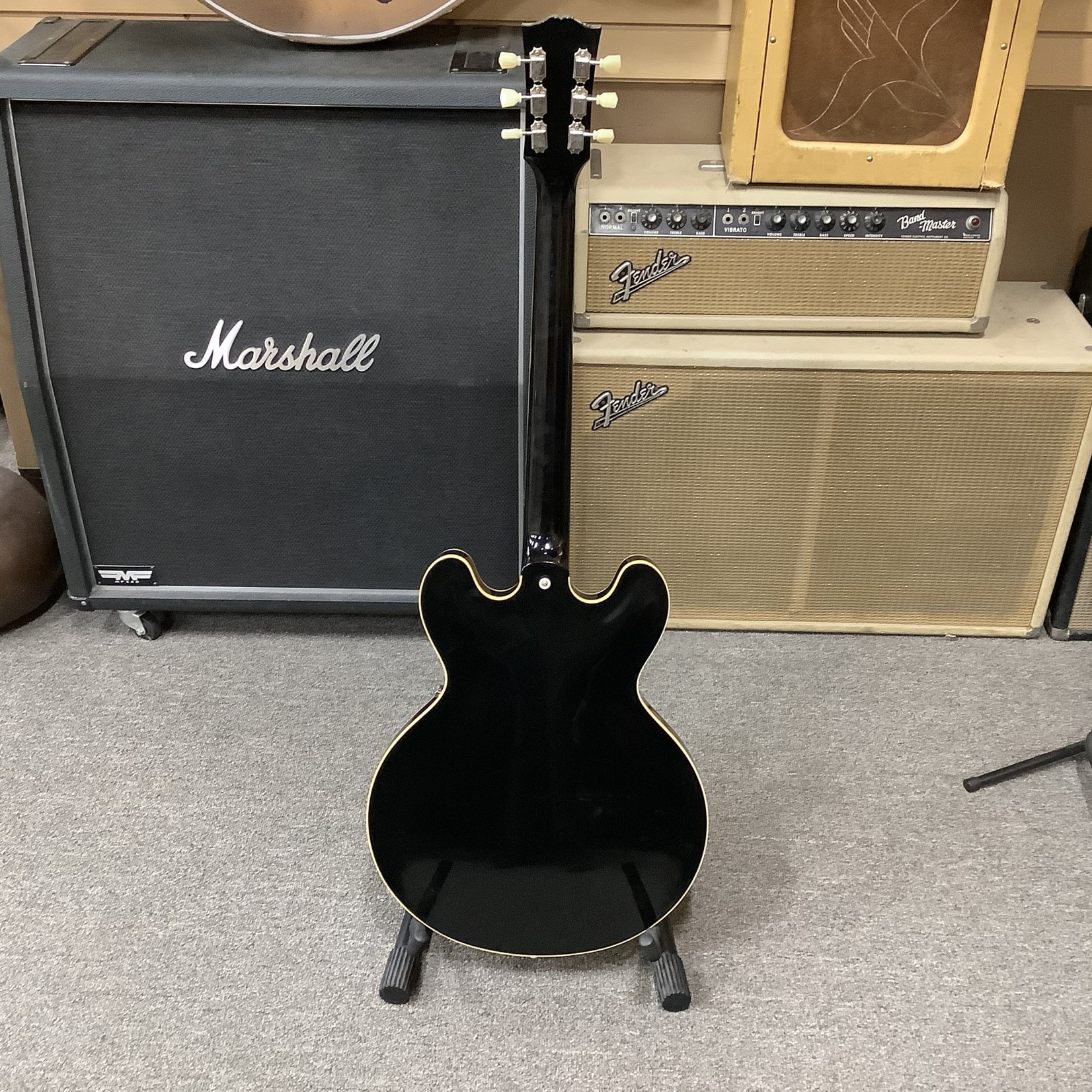 Gibson New Gibson Murphy Lab Lightly Aged 335 Dot Neck Black