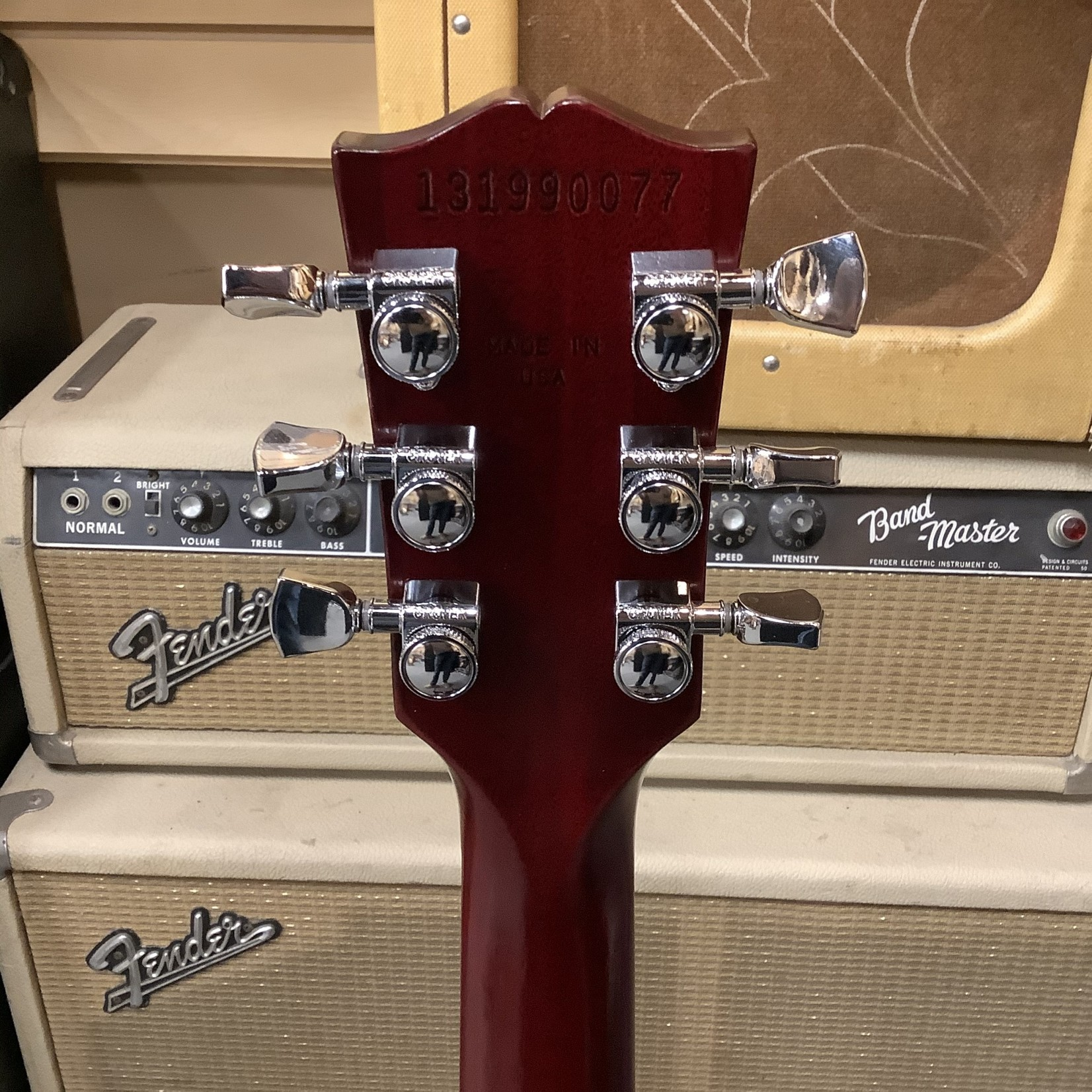 Gibson 2019 Gibson Les Paul Traditional Pro V Wine Red