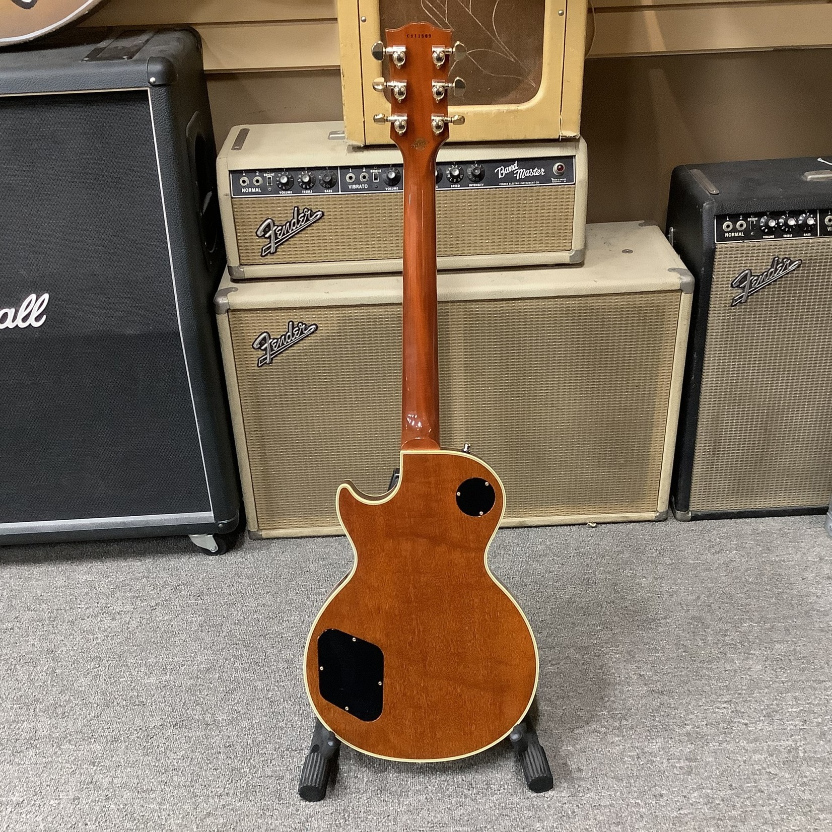 Gibson Late 90's Gibson Les Paul Custom Shop Florentine Limited Edition, F-Holes, Sunburst