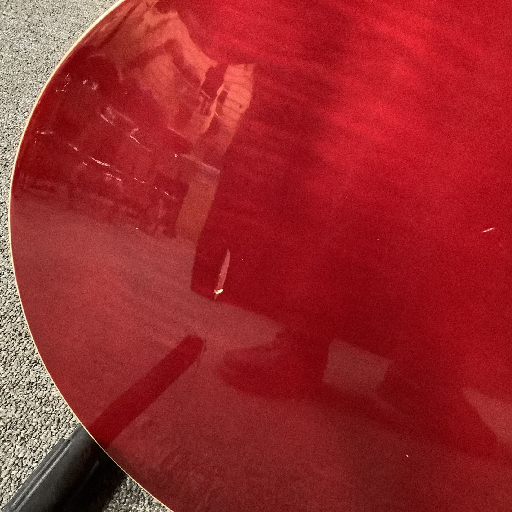 Gibson 1995 Gibson ES 335 TDC Dot Neck Reissue Red Flamey