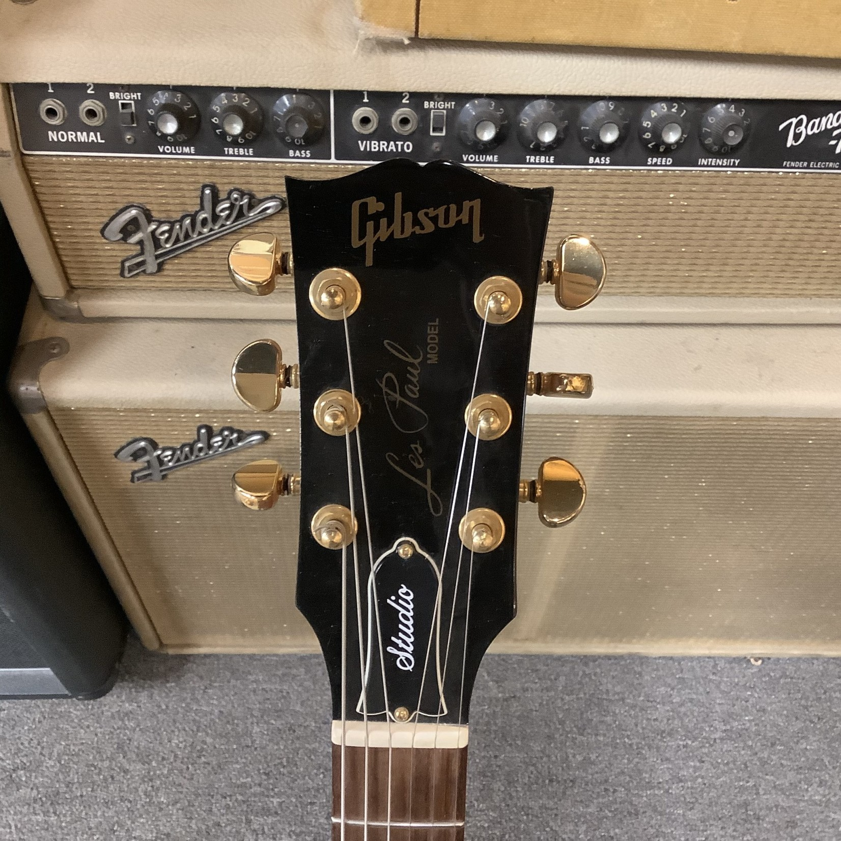 Gibson 1998 Gibson Les Paul Studio Red/Gold